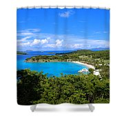 Caneel Bay Shower Curtain