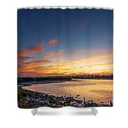 Canho De Sancti Petri San Fernando Cadiz Spain Shower Curtain