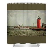 Canim And Milwaukee Pierhead Shower Curtain