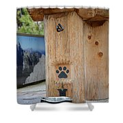 Canine Catering  Shower Curtain