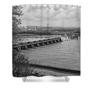 Cannelton Locks And Dam Shower Curtain