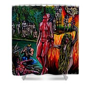 Cannibal Holocaust Shower Curtain