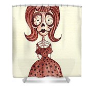 Cannibal Wednesday Shower Curtain