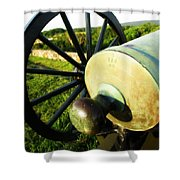 Cannon At Antietam Shower Curtain