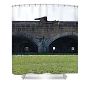 Cannon At Fort Pickens Shower Curtain