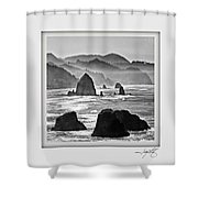 Cannon Beach 1 Shower Curtain