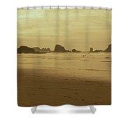 Cannon Beach 3 Shower Curtain