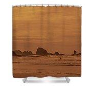 Cannon Beach 4 Shower Curtain