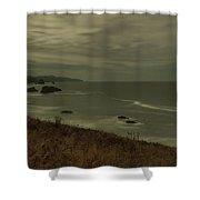 Cannon Beach 5 Shower Curtain