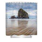 Cannon Beach, Oregon Shower Curtain