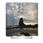 Cannon Beach Sunset 1 Shower Curtain