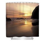 Cannon Beach Sunset-oregon Shower Curtain