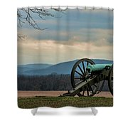 Cannon Shower Curtain
