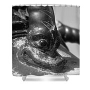 Cannon Detail Shower Curtain