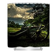 Cannon Encampment Valley Forge Shower Curtain