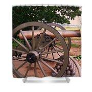 Cannon Gettysburg Shower Curtain