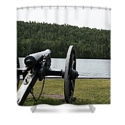 Cannon Protection Shower Curtain