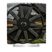 Cannon Wheel Shower Curtain