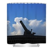 Cannons At Fort Moultrie Charleston Shower Curtain