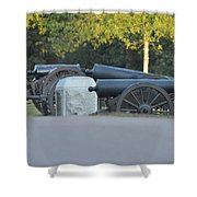 Cannons At Shiloh Shower Curtain