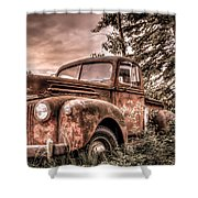 Canoe Truck #2 Shower Curtain