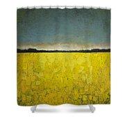 Canola Field N0 1 Shower Curtain