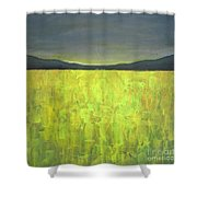 Canola Fields N05 Shower Curtain