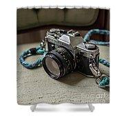 Canon Ae-1 Film Camera Shower Curtain