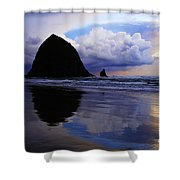 Cannon Beach Nature's Symphony Shower Curtain