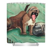 Canon Pups Shower Curtain