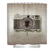 Canonete Film Camera Shower Curtain