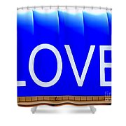 Canopy Of Love Shower Curtain