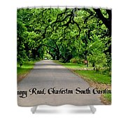 Canopy Road Shower Curtain