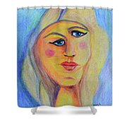 Can't See Eye To Eye Shower Curtain
