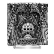 Canterbury Cathedral - Interior Shower Curtain