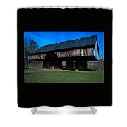 Cantilever Barn Shower Curtain