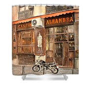 Cantina Alhambra Shower Curtain