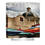 Cantina De San Angel Shower Curtain