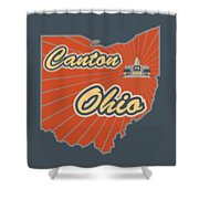 Canton Ohio Shower Curtain