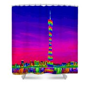 Canton Tower  Shower Curtain