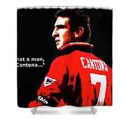 Cantona  Shower Curtain
