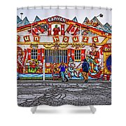 Canuck Funhouse Shower Curtain