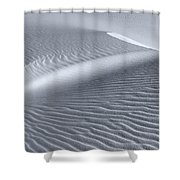 Canvas Of The Winds Shower Curtain