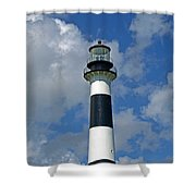 Canveral Light Florida Shower Curtain