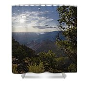 Canyon Afternoon Shower Curtain