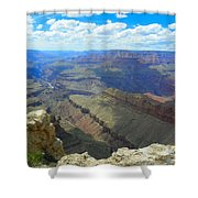 Canyon And Sky  Shower Curtain