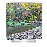 Canyon Autumn Shower Curtain