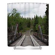 Canyon Creek Bridge Shower Curtain