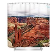 Canyon De Claire - New Mexico Shower Curtain