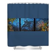 Canyon Flight Shower Curtain